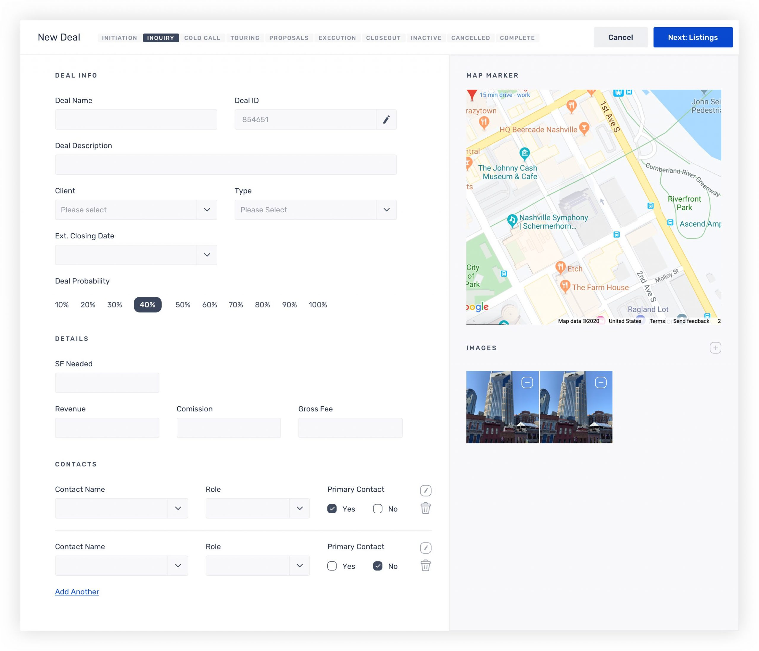 Technology Solution for Real Estate Workflow Tool
